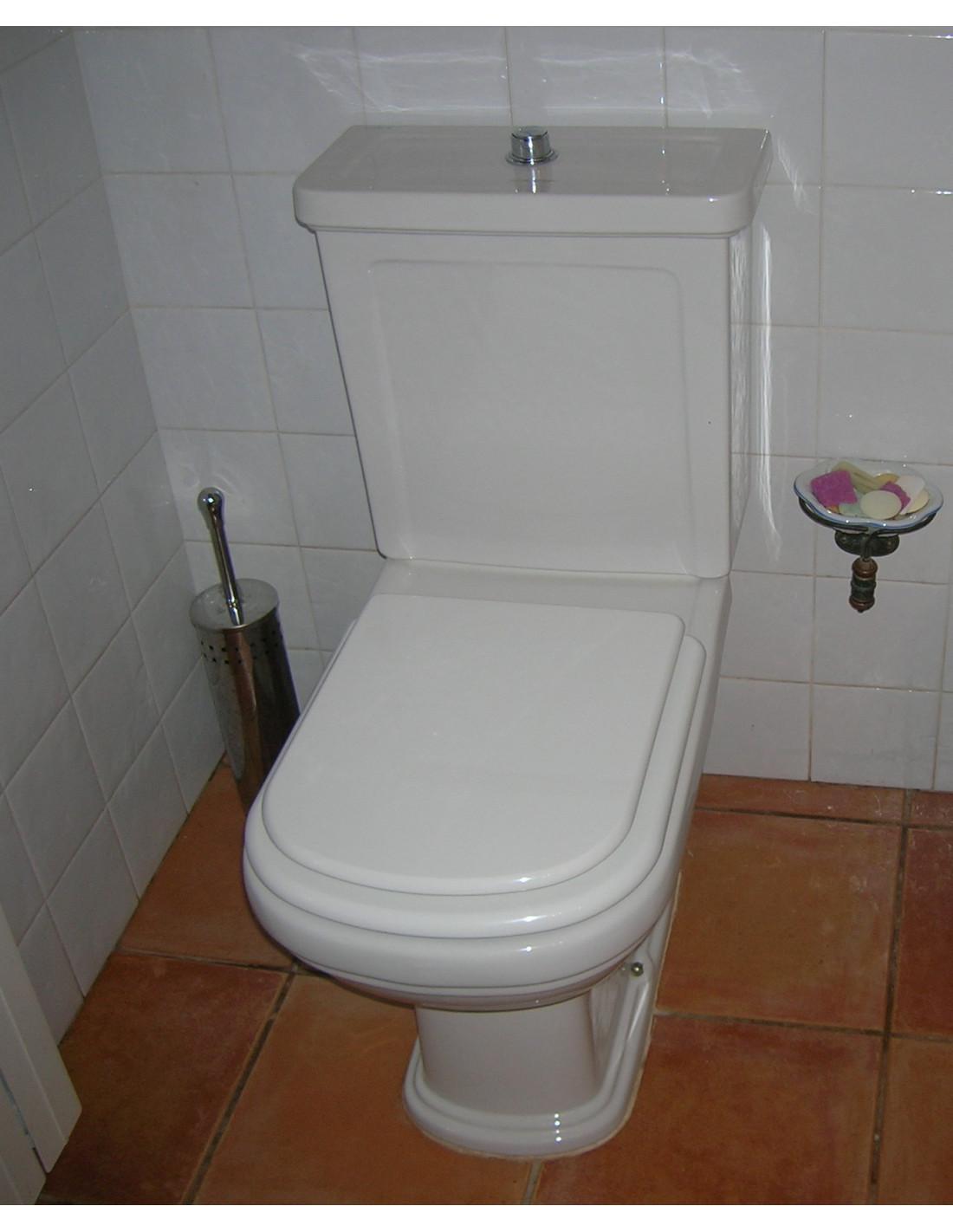 Abattant de le toilette mod le renascen a du sanitana adaptable - Abattant de toilette ...