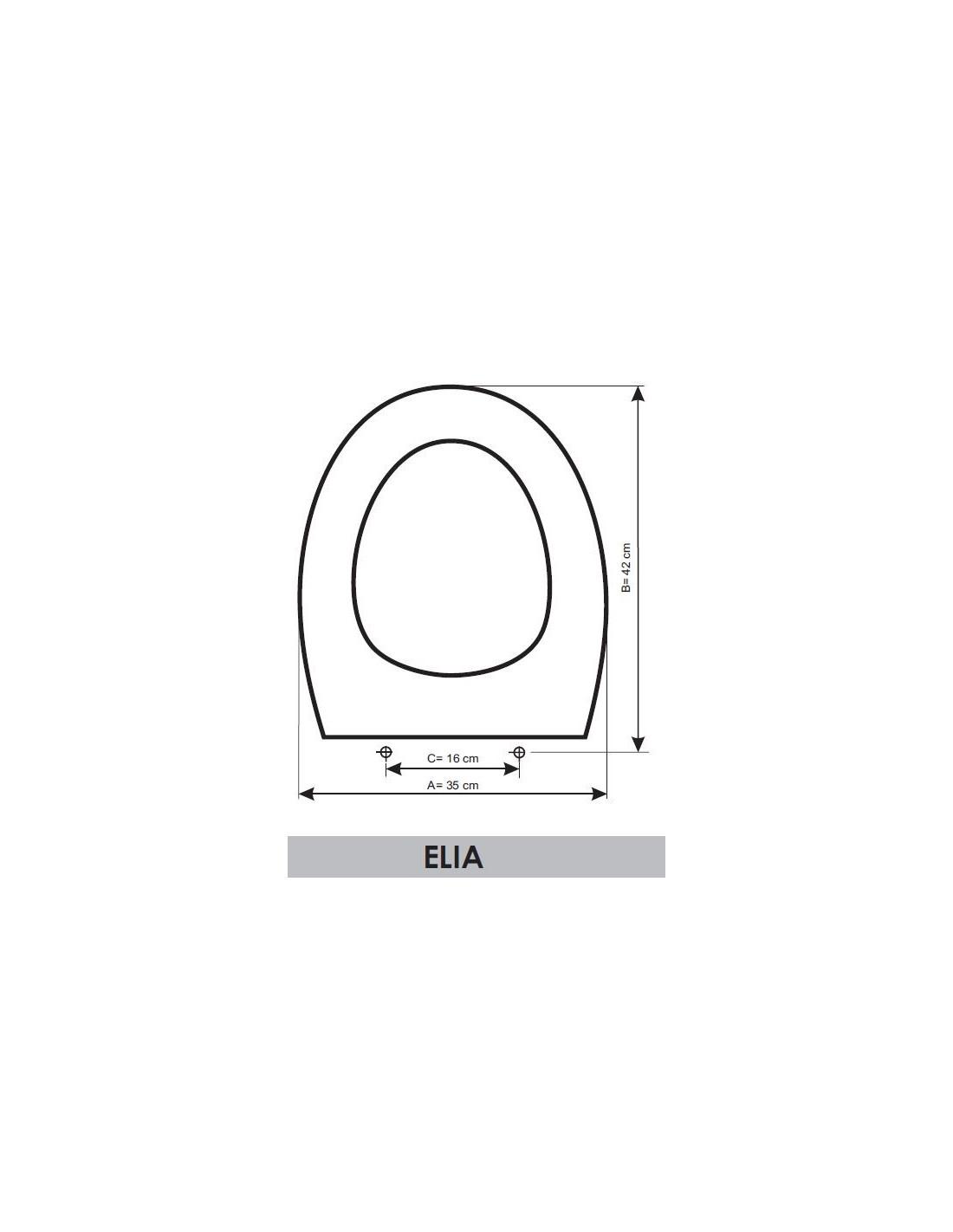 Tapa wc gala elia adaptable en resiwood for Tapa wc gala