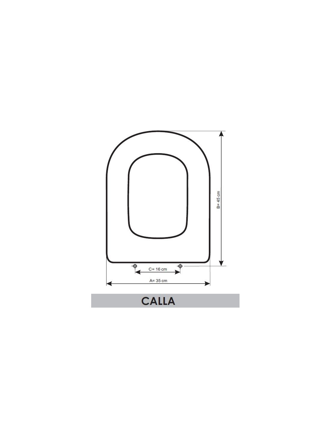 abattant du wc ideal standard calla adaptable in resiwood fr
