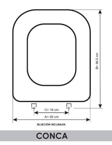 Ideal Standard Sedile Conca.Sedile Wc Ideal Standard Conca Adattabile In Resiwood