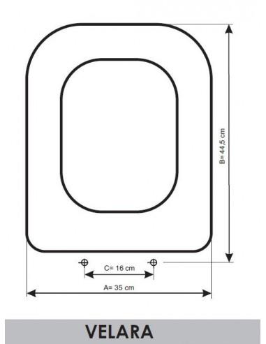 Ideal Standard Sedile Wc.Sedile Wc Ideal Standard Velara Adattabile In Resiwood It