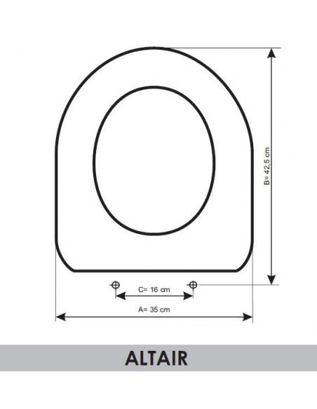 JACOB DELAFON ALTAIR (ADAPTABLE E6374-00)