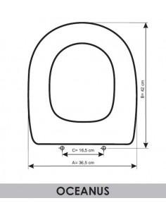 TAPA WC VALADARES OCEANUS ADAPTABLE EN RESIWOOD