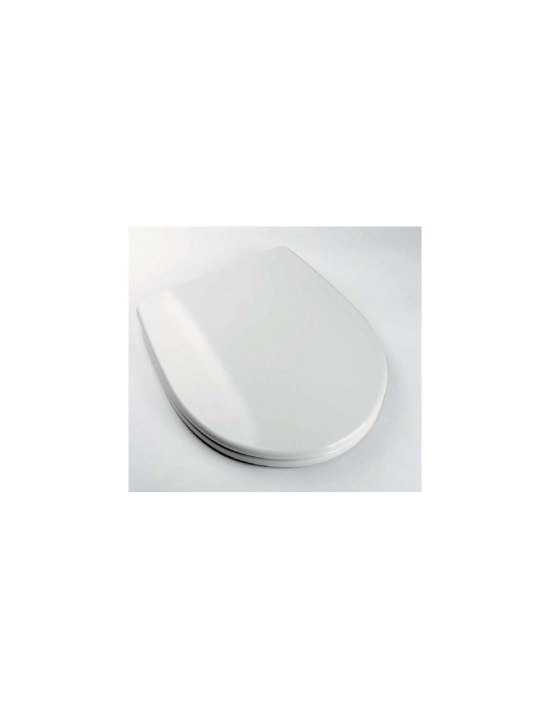 abattant du wc sanitana jazz adaptable in duroplast. Black Bedroom Furniture Sets. Home Design Ideas