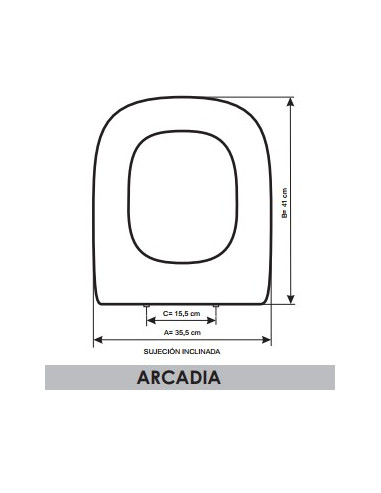 Astounding Seat Wc Bellavista Arcadia Adaptable In Resiwood Evergreenethics Interior Chair Design Evergreenethicsorg