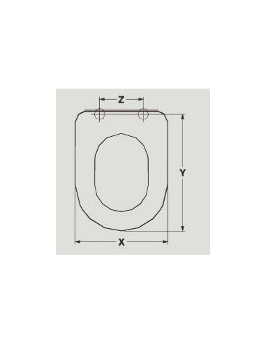 SEAT WC ALTHEA ARES ADAPTABLE RESIWOOD