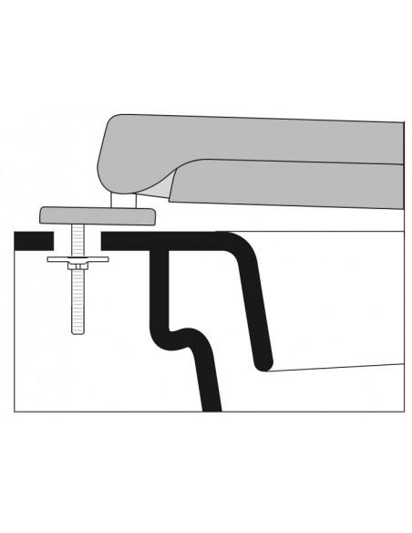 SEAT WC ETRURIA CONCHIGLIA ADAPTABLE IN DUROPLAST